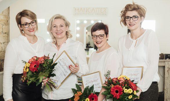 Makeupschule Dresden - Abschluss Brautstylist